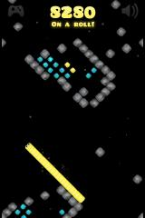 SnakeRace iPhone A typical level