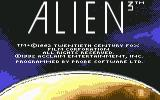 Alien³ Commodore 64 Loader