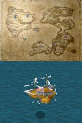 "Final Fantasy III Nintendo DS ""The Invincible"" - a big and powerful air vessel"