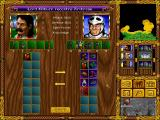Heroes of Might and Magic Windows You can exchange army and items between your heroes when they're next to one another.