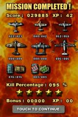 Mortal Skies: Modern War Air Combat Shooter iPhone Mission stats