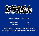 Doraemon NES Title Screen