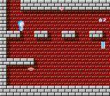 Doraemon NES A side-scrolling section