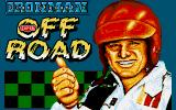 Ivan 'Ironman' Stewart's Super Off Road DOS Title Screen