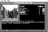 "Secret of the Silver Blades Macintosh ""Small"" Red Dragons attack"