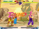 Street Fighter Alpha 2 Windows All matches take place against an animated background. There are some nice touches like the guy on the left sleeping while resting against the elephant.