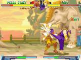 Street Fighter Alpha 2 Windows When a strike hits home it really hits home.