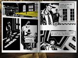 Nick Chase: A Detective Story iPad Comic book scene transitions