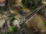 Reckless Racing iPad Starting line for a 3 lap race