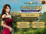 Awakening: The Dreamless Castle iPad Main menu