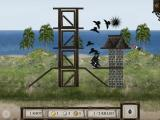 Crush the Castle iPad HD version - Murder of Crows ammo with a hoard of hungry black crows