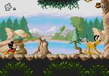 Mickey Mania Genesis Moose hunt level