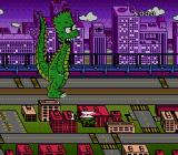 The Simpsons: Bart's Nightmare Genesis Bartzilla rampaging in a city