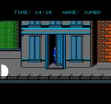 Hostage: Rescue Mission NES Hide behind objects when the spotlight gets too close