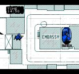Hostage: Rescue Mission NES A sniper has reached his position on the map