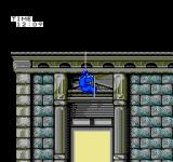 Hostage: Rescue Mission NES The team on the roof scales down the side of the building looking for an empty room