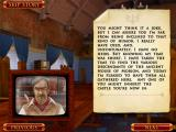 The Unicorn Castle iPad Cutscene of Roger's video information to his heirs
