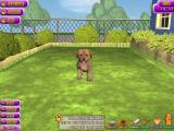 Puppy Luv: A New Breed Windows The game is menu driven. Here it starts with a hungry puppy....