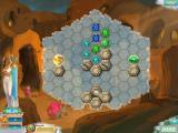 Heroes of Hellas 2: Olympia Windows Your goal in this Puzzle mode board is to free both gems.
