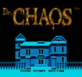 Dr. Chaos NES Title Screen