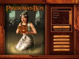 Pandora's Box Windows Player selection screen (French version)