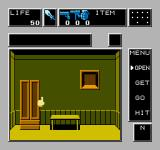 Dr. Chaos NES The first person view is used inside the individual rooms