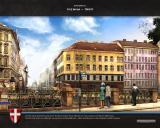 Cities in Motion Windows Loading screen of Vienna city.