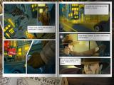 Nick Chase and the Deadly Diamond iPad Comic style cutscene