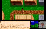 The Faery Tale Adventure: Book I Amiga Wandering in the village