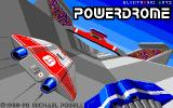 Powerdrome DOS Title screen