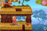 Enchanted: Once Upon Andalasia Game Boy Advance Giselle turned the troll into a turtle.