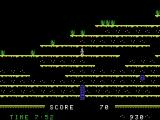 Mountain King ColecoVision A game in progress