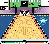 10-Pin Bowling Game Boy Color Line up your shot.
