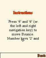 Bounce Tales J2ME Instructions