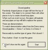 PipeFun Windows Instructions for the Closed Pipeline game