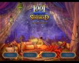 1001 Nights: The Adventures of Sindbad Macintosh Title / main menu