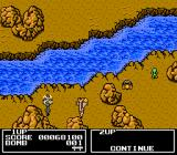 Twin Eagle NES Enemy soldiers are green