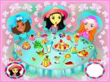 Cindy's Fashion World Windows The Berry's Cafe mini-game. The player clicks on an item of food and, if it belongs to the girl pictured in the lower left of the screen, it is removed from the table