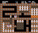 Exodus: Journey to the Promised Land NES Collect question marks and Manna