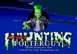 Haunting Starring Polterguy Genesis Title screen