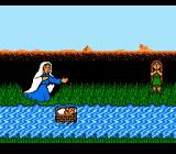 Exodus: Journey to the Promised Land NES Baby moses is put in the river
