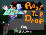 The Cramp Twins: Roof Top Drop Browser Title Screen