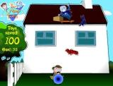 The Cramp Twins: Roof Top Drop Browser 100 toys saved!