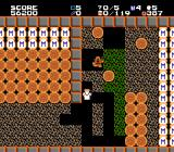 Exodus: Journey to the Promised Land NES Make sure the many boulders don't fall on your head!