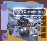ATV Mania PlayStation Title Screen.