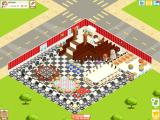 Restaurant Story iPad Advanced level 67 restaurant. Two floors, Chinese lions... oh my!