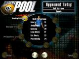 Expert Pool Windows Opponents can be chosen from preset players in three difficulty groups