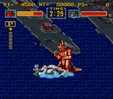 King of the Monsters SNES A change of colour indicates an increase of power
