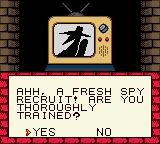 Spy vs Spy Game Boy Color I wonder who this guy is, White or Black...