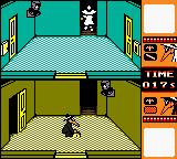 Spy vs Spy Game Boy Color Black places the time bomb